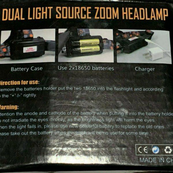 High Power LED Headlamp Fashlight