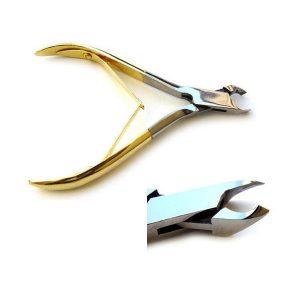Cuticle Nipper Cutter Gold