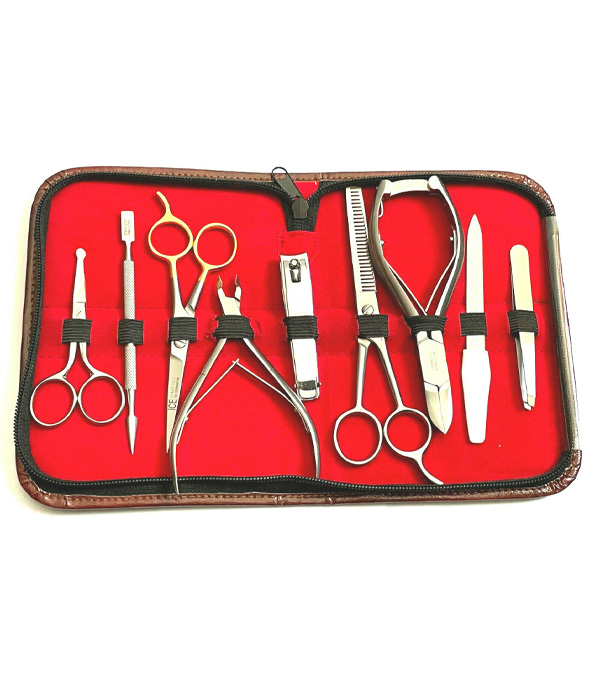 Manicure Pedicure Stainless Tools Kit
