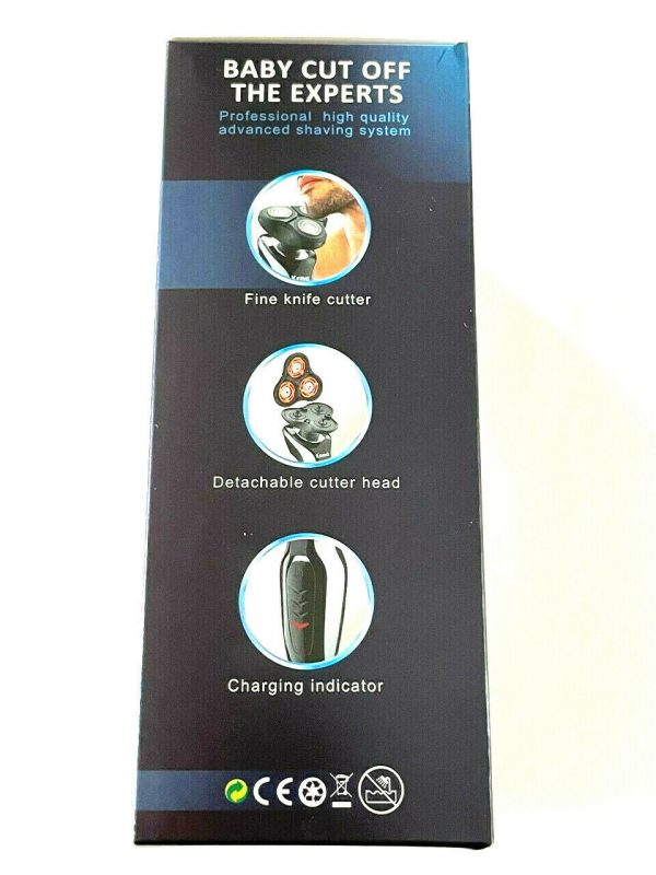 Rechargeable clean shaver KM-382
