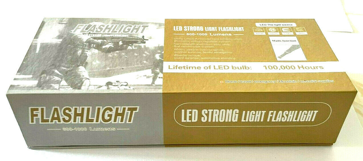 LED Strong Flashlight Multi Function