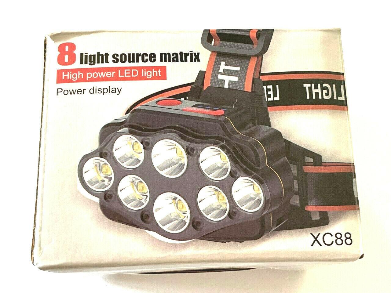 8 LED Ultra Bright Headlamp