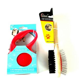 Double Hair Grooming Brush Set