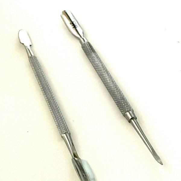 2pcs Nail Cuticle Pusher Tool