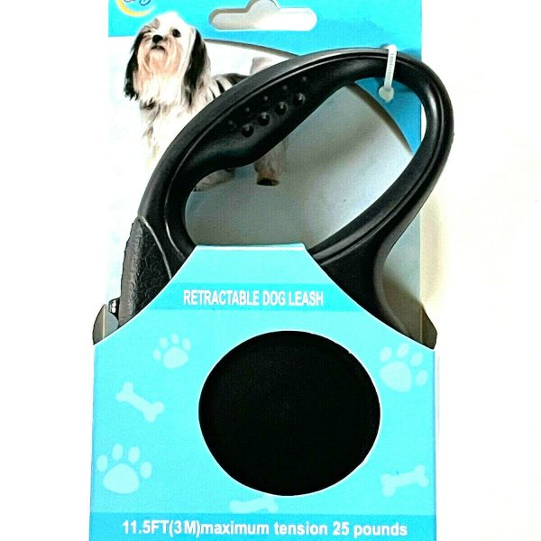 Retractable Dog Pet Leash 11.5FT