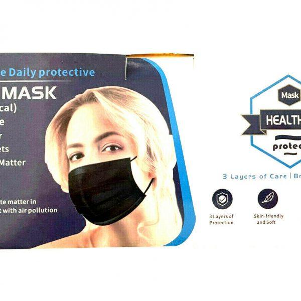 Disposable Masks Black Color